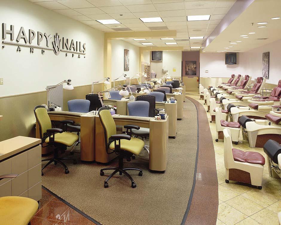 Spa Salon Layout Design